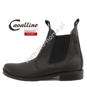 82df62e1c6441 sztyblety męskie - krótkie buty do jazdy konnej skórzane czarne - (rozmiar  od 39-45) Pro-horse Sklep Jeździecki
