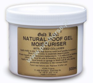 Hoof Gel Moisturer Gold Label żel do kpyt